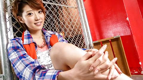 Makoto Yuukia - Asian pussy creampie with sexyMakoto Yuukia - Picture 7