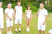 Sexy Japanese street sex with young Sara Saijo Photo 10