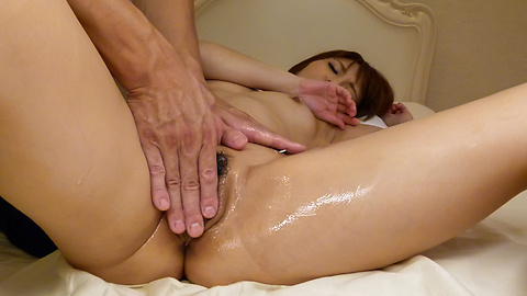 Risa Mizuki - Massage leads hot woman to suck cock like a goddess - Picture 9