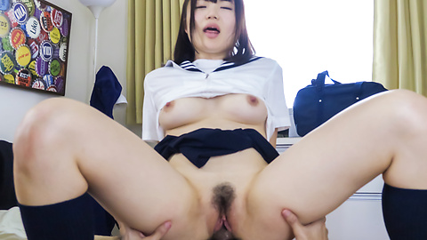 Risa Suzuki Japanese masturbation and hardcore sex