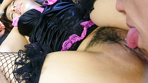 Megu Kamijo - A japanese cum shot after being fucked by two guys - Picture 9