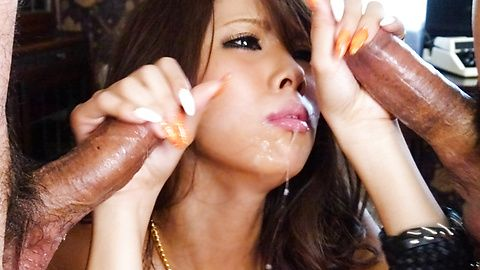 Ema Kisaki is roughly and strongly fucked
