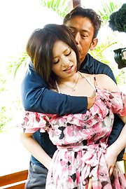 Minami Asano - Minami Asano fucked in rough outdoor session - Picture 4