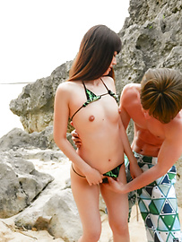 Ayaka - Outdoor porn experience with cock sucking Ayaka  - Picture 7