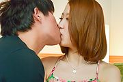 Miku Kirino - Asian amateur oral with youngMiku Kirino - Picture 1
