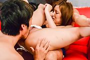 Top Japanese gangbang action along hot Saya Fujiwara  Photo 6