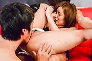 Top Japanese gangbang action along hot Saya Fujiwara  Photo 8