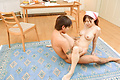 Japanese blowjob in combination with hardcore sex