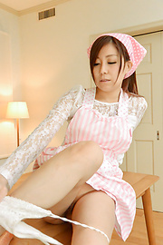 Chihiro Akino - Japanese blowjob in combination with hardcore sex  - Picture 5