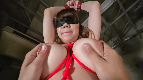 Iroha Suzumura - Bondage sex with an Asian dildo for Iroha Suzumura - Picture 12