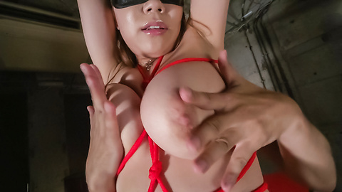 Iroha Suzumura - Bondage sex with an Asian dildo for Iroha Suzumura - Picture 3