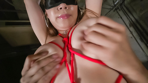 Iroha Suzumura - Bondage sex with an Asian dildo for Iroha Suzumura - Picture 5