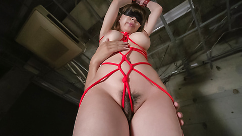 Iroha Suzumura - Bondage sex with an Asian dildo for Iroha Suzumura - Picture 9