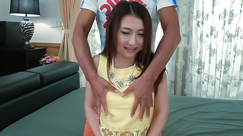 Maya Kato - Maya Kato, amateur girl, provides Japanese blowjob  - Picture 3
