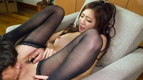 Kaori Maeda - Asian blowjob during hardcore sex at work forKaori Maeda - Picture 12