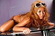 Rui Akiyama rubbing her japanese tits in solo Photo 9