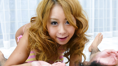 Yuno Shirasu - Hot Yuno Shirasu stroking a stiff dick in her cunt - Picture 12