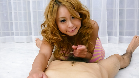 Yuno Shirasu - Hot Yuno Shirasu stroking a stiff dick in her cunt - Picture 6