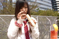 Ryo Asaka arousing Asian teen takes a sensual shower