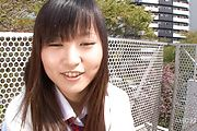 Asian schoolgirl presents herself masturbating  Photo 1