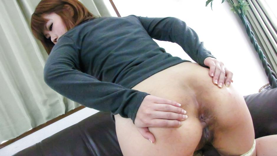 Ibuki Akitsu fucked with toys and dick in japanese anal sex