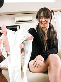 Morita Kurumi - Morita Kurumi shaved and fucked while having asian anal fun - Picture 4
