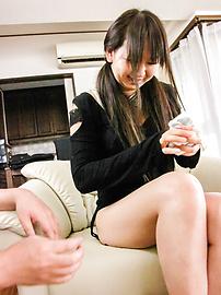 Morita Kurumi - Morita Kurumi shaved and fucked while having asian anal fun - Picture 7