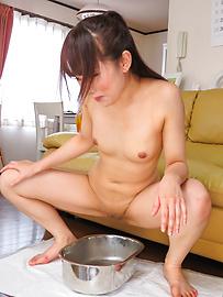水嶋あい - セーラー服フェラ&アナル~水嶋あい - Picture 10