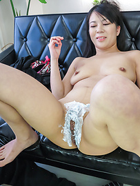 Saya Fujimoto - Japanese milfs enjoying naughty oral pleasures - Picture 9