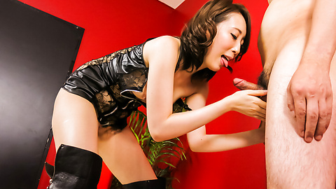 Aya Kisaki - Aya Kisaki hot Japan milf with need for sucking cock  - Picture 9