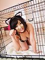 Aika Hoshino posing her shaved pussy in wild solo  Photo 1