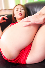 Yume Kimino - Asian hottie gets jizzed on face after serious porn show  - Picture 2