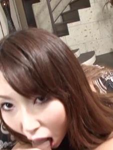 Yui Hatano - Sexy Yui Hatano goes nasty on a big cock - Screenshot 1