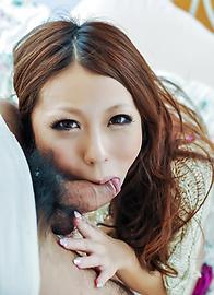 小桜沙樹 - 生ハメエンジェル小桜沙樹~口内射精 - Picture 10