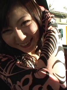 Serika Kawamoto - Sweetie receives Japanese vibrator in the car -  12 รูปภาพหน้าจอ