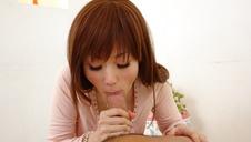 Top POV asian blow job along hornyMizuki