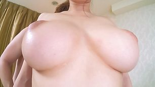 Big tits beauty gets licked until orgasm