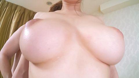 Big tits beauty gets licked until orgasm