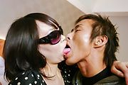 Japanese orgy along insolent girls, Ria and  Sou Photo 2