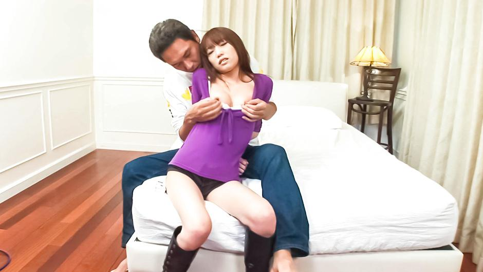 MILF Ibuki Collared, Fucked And Creampied