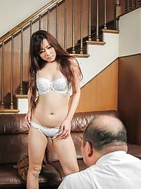 Mizuki Ogawa - 水木小川获取他妈的之前刺激亚洲振动器 - 图片 8