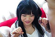 Moka Minaduki pleases with magical Asian blowjob Photo 9