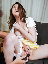 Airi Mizusawa - Anal Asian with hot mature Airi Mizusawa  - Picture 6