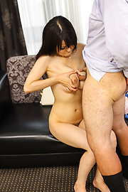 Yui Satonaka - Hot milf in sexy lingerie amazes with Japanese blowjob - Picture 2
