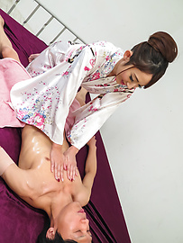 Reon Otowa - Cum in mouth for cock sucking Reon Otowa  - Picture 2
