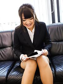 Natsuki Hasegawa - ญี่ปุ่นเล่นหนังโป๊ขี่ Dildo ในเดี่ยวพิเศษ -  7 รูปภาพ