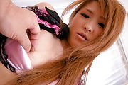 Stunning babe, Yuzu Shiina, boned deep and cum-filled Photo 5
