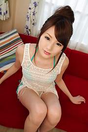 Runa Ayase - Lovely Asian blow job along beautifulRuna Ayase - Picture 2