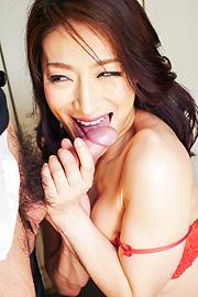 Marina Matsumoto - Marina Matsumotogives warm Asian blow job on cam - Picture 10