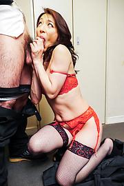 Marina Matsumoto - Marina Matsumotogives warm Asian blow job on cam - Picture 11